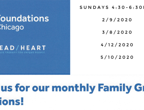 Join us for our monthly Family Group sessions!